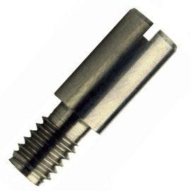 DIN 927Винт с цилиндрической головкой с прямым шлицем и резьбовой цапфой