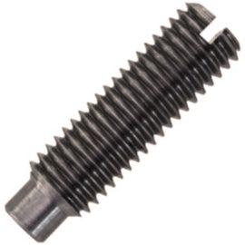 ISO 7435 Винт установочный с прямым шлицем и цилиндрическим концом