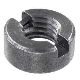 DIN 546 Гайки круглые со шлицем на торце