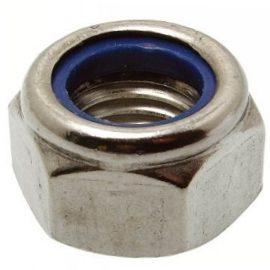 ISO 7040 Гайка самостопорящаяся со стопорным нейлоновым кольцом высокая