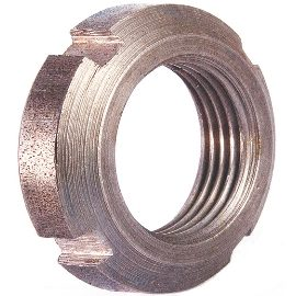 DIN 981 Гайка шлицевая круглая
