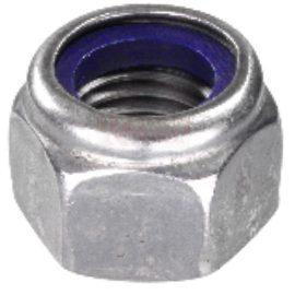DIN 982 Гайка самостопорящаяся со стопорным нейлоновым кольцом высокая